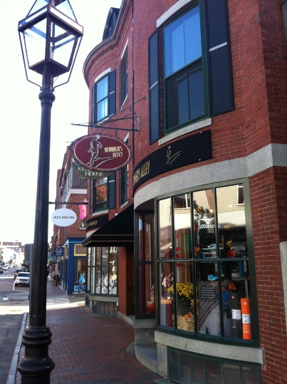 Runner's Alley, Portsmouth, New Hampshire- Our favorite running store!