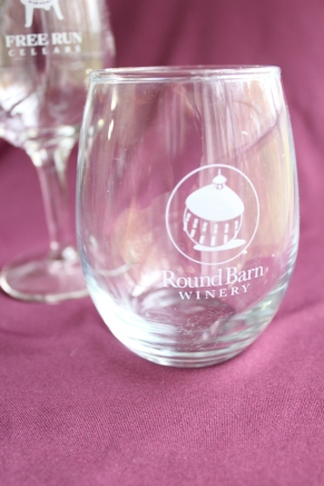 This adorable wine glass is used for the tastings and is yours to keep.